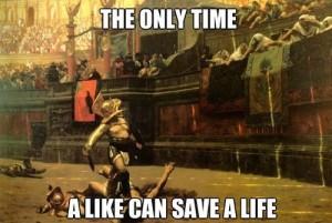 """Czy """"lajk"""" może uratować komuś życie?"""